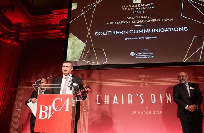 Southern at BVCA Awards 2019